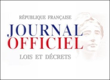 Visuel du Journal Officiel